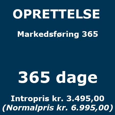 Lederuddannelse eller lederkursus - Oprettelse - Markedsføring 365 - Produkt - Lederuddannelserne.dk