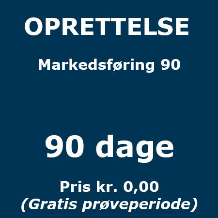 Lederuddannelse eller lederkursus - Oprettelse - Markedsføring 90 - Produkt - Lederuddannelserne.dk