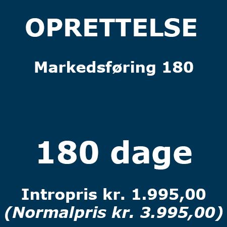 Lederuddannelse eller lederkursus - Oprettelse - Markedsføring 180 - Produkt - Lederuddannelserne.dk