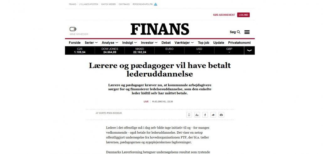 Lærere og pædagoger vil have betalt lederuddannelse - Finans - Artikel - Lederuddannelserne.dk