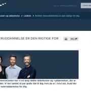 Hvilken lederuddannelse er den rigtige for dig - Artikel - Lederne - Lederuddannelserne.dk