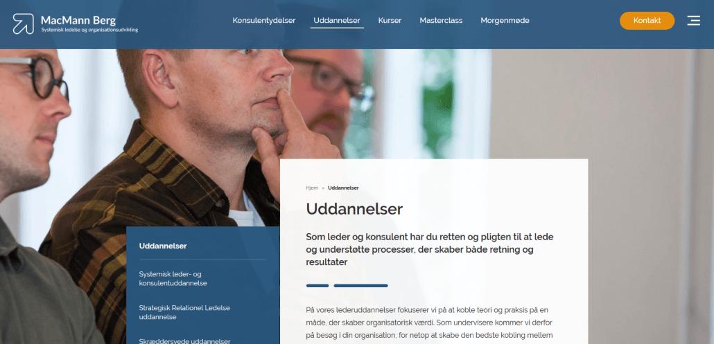 Udbydere - MacMann Berg - Lederuddannelser - Find din næste lederuddannelse hos MacMann Berg