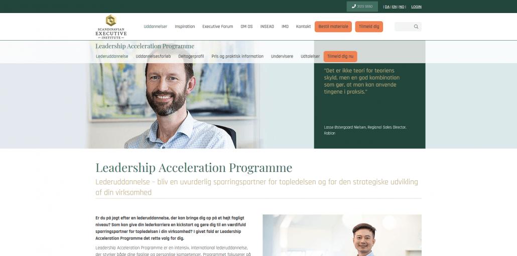 Udbydere - Scandinavian Executive Institiute - Lederuddannelser og lederkurser