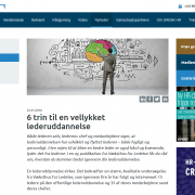 6 trin til en vellykket lederuddannelse - Dansk HR - Lederuddannelser og lederkurser