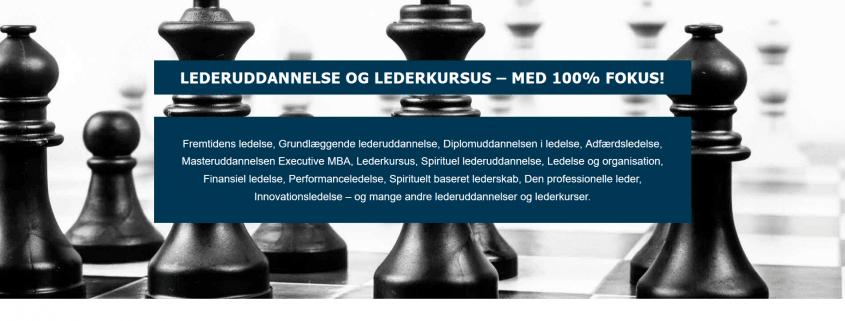 Lederuddannelse og lederkursus med 100 procent fokus - Udbydere fra DK