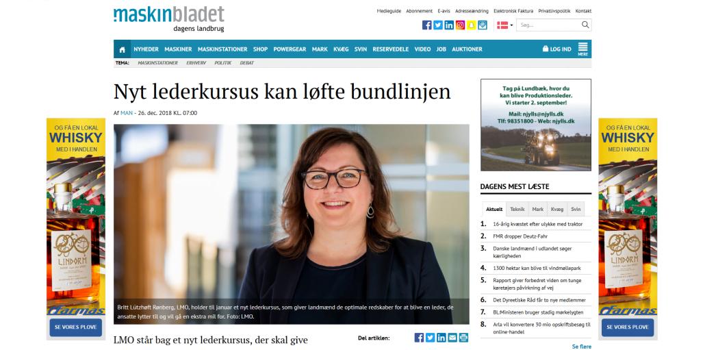 Nyt lederkursus kan løfte bundlinjen - Artikel - Maskinbladet - Lederuddannelse