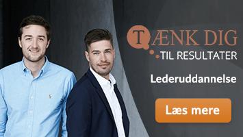 Lederuddannelse - Tænk dig til resultater - Bering & Søgaard