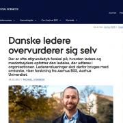 Lederuddannelse og lederkursus - Danske ledere overvurderer sig selv