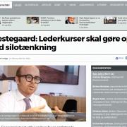 Præstegaard - Lederkurser skal gøre op med silotænkning - Lederuddannelse og lederkursus